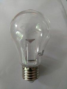 Grote LEDlamp dimbaar warm witte, 2 watt.